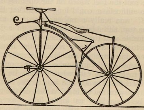 Velocipede…..veloc what?
